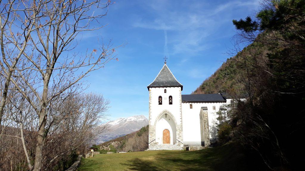 Ermita de Santa Elena. A 20 min de Jaca.